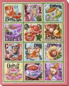 Набор для вышивки бисером Чайная карта Абрис Арт АВ-696 - 540.00грн.
