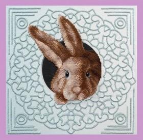 Набор для вышивки бисером Кролик