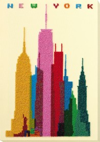 Набор для вышивки бисером на натуральном художественном холсте Нью-Йорк Абрис Арт АВ-764 - 431.00грн.