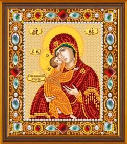 Набор для вышивки бисером Богородица Владимирская Новая Слобода (Нова слобода) Д6002 - 187.00грн.