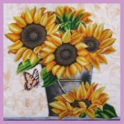 Набор для вышивки бисером Дачные цветы