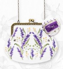 Косметичка для вышивки крестом Цветы Luca-S BAG026