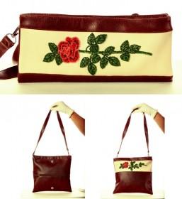 Сумка-клатч для вышивки бисером Роза