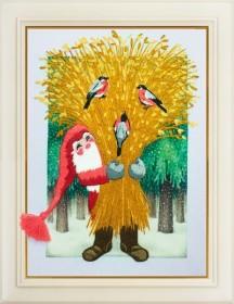 Набор для вышивки нитками З Різдвом!, , 149.00грн., R-008, OLANTA, Новый год