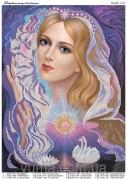 Схема вышивки бисером на атласе Покровительница влюблённых