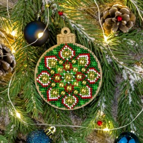 Набор для вышивки бисером по дереву FLK-395 Волшебная страна FLK-395 - 129.00грн.