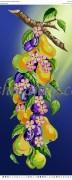 Схема для вышивки бисером на атласе Фруктовий рай