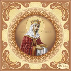 Схема вышивки бисером на атласе Святая Равноапостольная Царица Елена Tela Artis (Тэла Артис) ТИС-022 - 75.00грн.