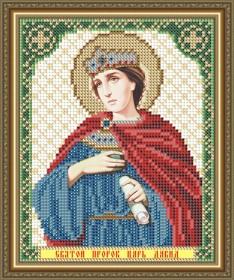 Схема вышивки бисером на габардине Св. Пророк Царь Давид Art Solo VIA5136 - 25.00грн.
