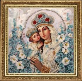 Набор для вышивки бисером Мария и Христос, , 277.00грн., 802Б, Баттерфляй (Butterfly), Иконы 26*35 (А3)