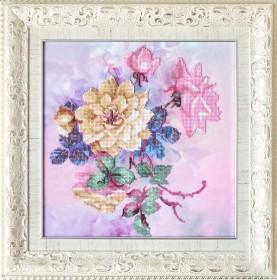 Набор для вышивки бисером Розовые грезы Tela Artis (Тэла Артис) НГ-079 - 480.00грн.