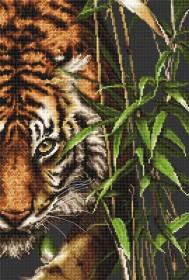 Набор для вышивки крестом Tигр