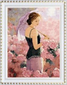 Набор для вышивания нитками Прогулка в саду, , 749.00грн., VN-036, OLANTA, Люди