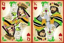 Схема вышивки бисером на атласе Дворцовая любовь Диптих Миледи СЛТ-2216