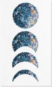 Набор для вышивки бисером Фазы луны (белый фон)