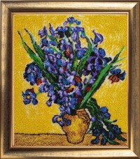Набор для вышивки бисером Ирисы по мотивам картины Ван Гога Баттерфляй (Butterfly) 151Б