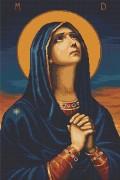 Набор для вышивки крестом Божья Матерь Всех скорбящих радость