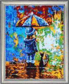 Набор для вышивки бисером Вдвоем под дождем Баттерфляй (Butterfly) 834Б - 665.00грн.
