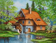 Набор для вышивки крестом Весенний пейзаж