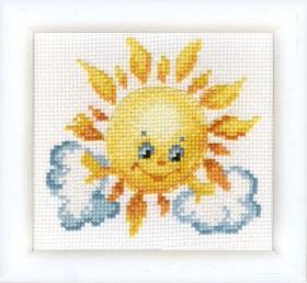 Набор для вышивки крестом Ласковое солнышко Cristal Art ВТ-020 - 48.00грн.