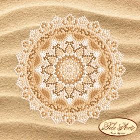 Схема вышивки бисером на атласе Мандала Райский пляж Tela Artis (Тэла Артис) МА-003 ТА - 50.00грн.