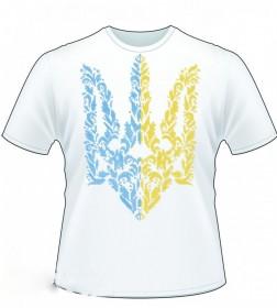 Мужская футболка для вышивки бисером Герб Украины  Юма ФМ-12 - 184.00грн.