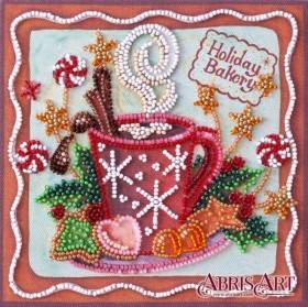 Набор-мини для вышивки бисером на натуральном художественном холсте Аромат праздника Абрис Арт AM-199 - 103.00грн.