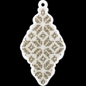 Набор для вышивания бисером на пластиковой основе