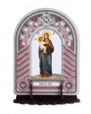 Набор для вышивки иконы с рамкой-киотом Богоматерь Новая Слобода (Нова слобода) ВК1006