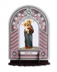 Набор для вышивки иконы с рамкой-киотом Богоматерь