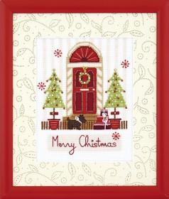 Набор для вышивания крестом Счастливого Рождества
