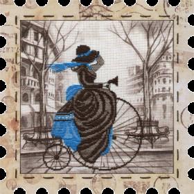 Набор для вышивки нитками Велосипед Новая Слобода (Нова слобода) КО4011 - 274.00грн.