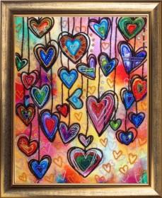 Набор вышивки бисером Праздник сердец