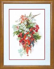 Набор для вышивки крестиком  Сладкая ягода Чарiвна мить (Чаривна мить) М-266