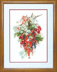 Набор для вышивки крестиком  Сладкая ягода, , 355.00грн., М-266, Чарiвна мить (Чаривна мить), Натюрморты