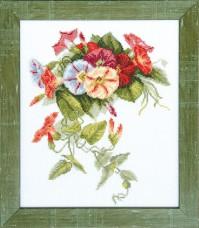 Набор для вышивки крестом Вьюнок Cristal Art ВТ-082