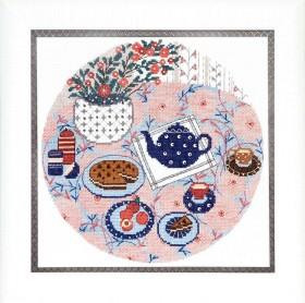 Набор для вышивания крестом Завтрак, , 195.00грн., ВТ-188, Cristal Art, Натюрморты