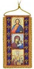 Набор для вышивки бисером Молитва водителя Абрис Арт АВО-004