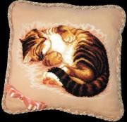 Набор для вышивки подушки крестиком Сладкий сон