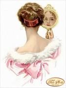 Схема для вышивки бисером на атласе Жаклин