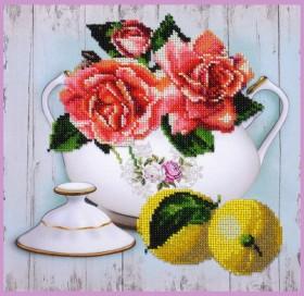Набор для вышивки бисером Чайный дуэт 2 Картины бисером Р-391 - 300.00грн.
