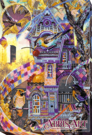 Набор для вышивки бисером на холсте Птичий городок