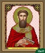 Рисунок на ткани для вышивки бисером Св. Григорий Палама