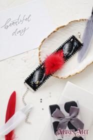 Набор для вышивки бисером украшение-браслет