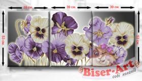 Схема для вышивки бисером Триптих Братики Biser-Art ТМ10 - 220.00грн.