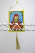 Схема для вышивки бисером Оберег Молитва Пресвятой Богородицы