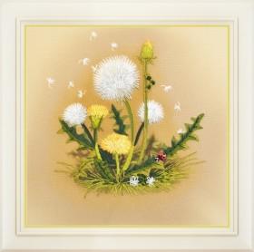 Набор для вышивки нитками Одуванчики, , 140.00грн., R - 026, OLANTA, Цветы