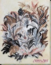 Набор для вышивки бисером на холсте Рисунок сепией Абрис Арт АВ-679