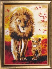 Набор для вышивки бисером Папа и сын