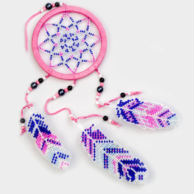 Набор для вышивания бисером на пластиковой основе Ловец снов  Волшебная страна FLPL-027 - 270.00грн.